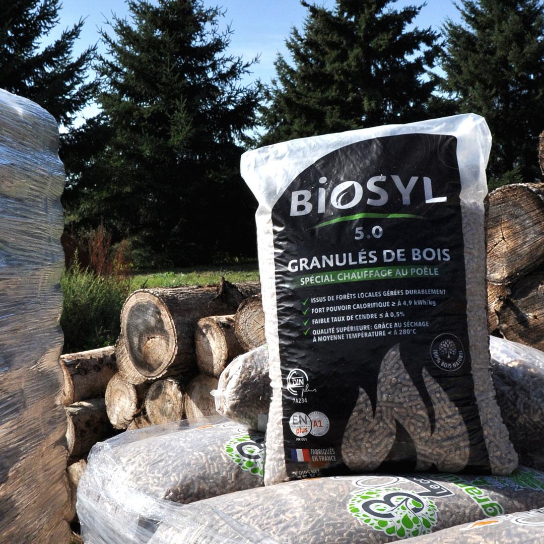 granul s de bois biosyl sac 15kg 3bois. Black Bedroom Furniture Sets. Home Design Ideas