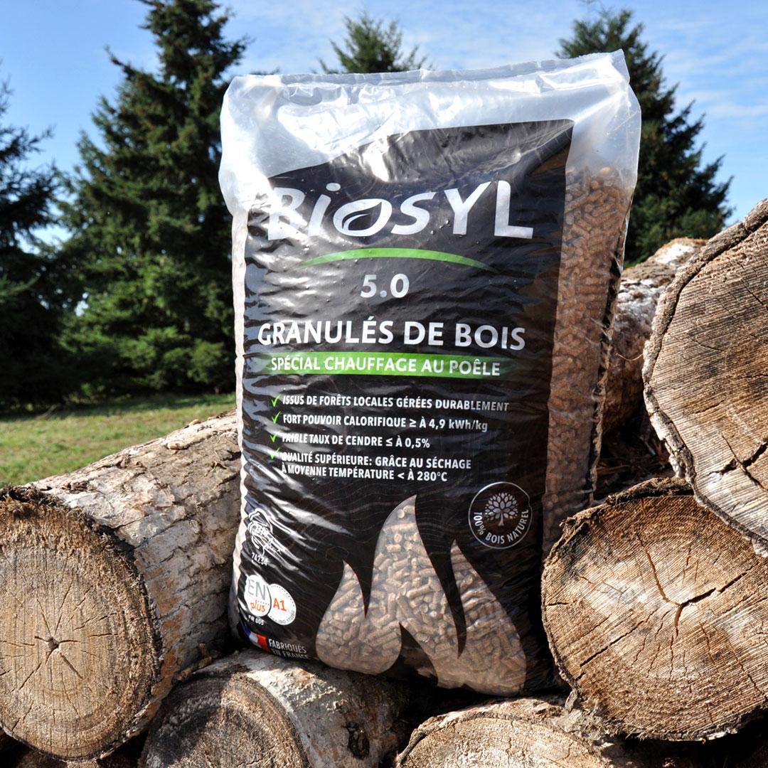 Granul s de bois biosyl sac 15kg 3bois - Granules de bois bricomarche ...