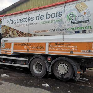 Camion plaquette 3bois