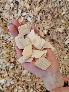 Copeaux d'ornement 3bois - Vrac Plaquettes blanches