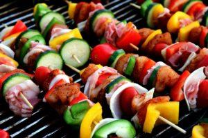 Photo cuisson barbecue à granulés